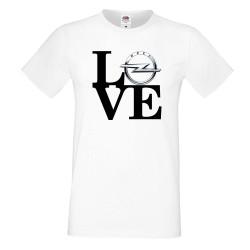 Мъжка тениска OPEL LOVE