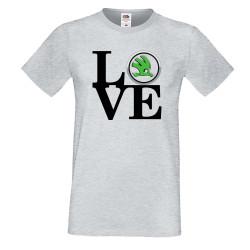 Мъжка тениска Skoda LOVE
