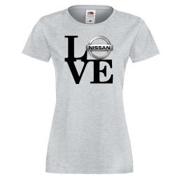 Дамска тениска Nissan LOVE