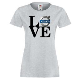 Дамска тениска Volvo LOVE