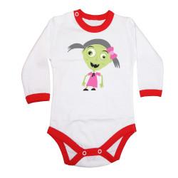 Бебешко боди Хелоуин Frankengirl