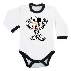 Бебешко боди Хелоуин 3 Мики Маус