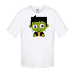 Детска тениска Хелоуин Frankenboy