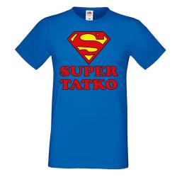 Мъжка тениска Супер ТАТКО