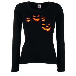 Дамска тениска Хелоуин Тикви