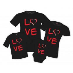 Семеен комплект Love family set