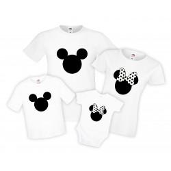 Семеен Коледен комплект Mickey Minnie mouse family set